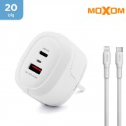 Moxom - 20w PD Wall Charger With Lightning Cable