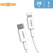 Moxom 28W Type-C to Lightning PD Cable 1 m