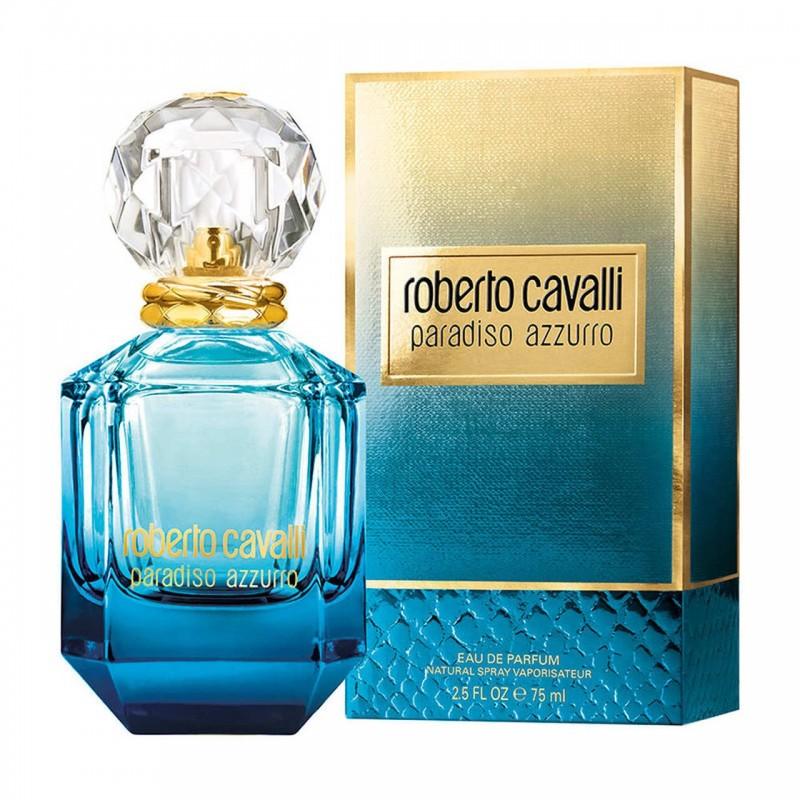 75ml Roberto Cavalli Paradiso Azzurro EDP For Her
