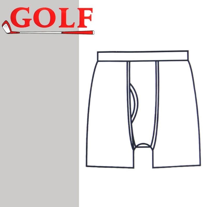 Set of 6 Underwear Half Pants White for Men by Golf