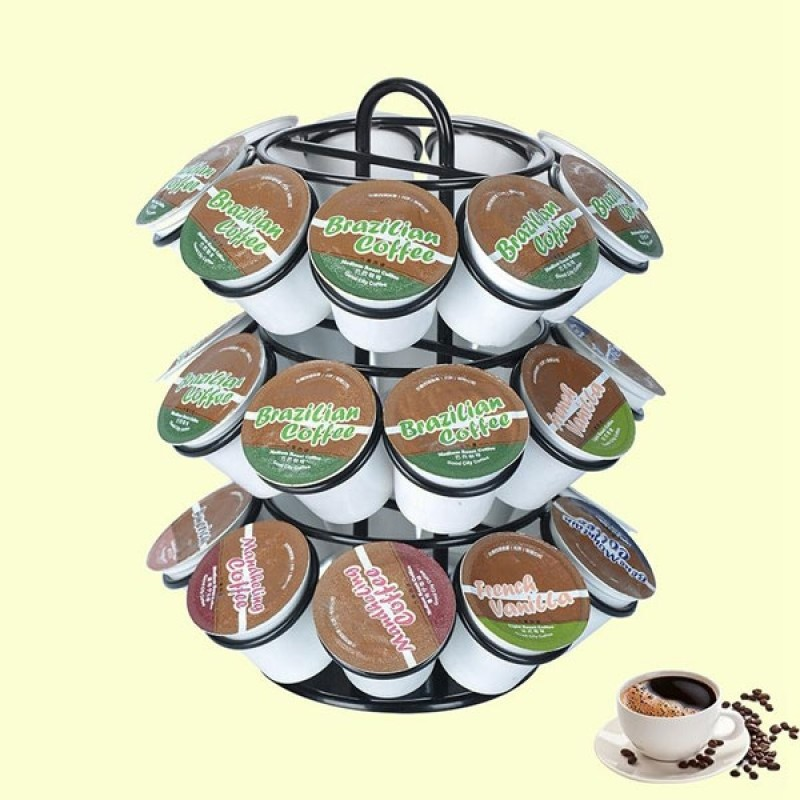 Coffee Capsules Stand Holds 27 Pods by OASISWJ