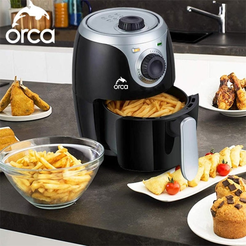 Orca 1000W 2L Non Sticky Airfryer