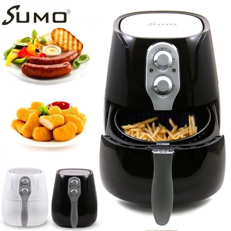 Sumo 3.2L 1400W Healthier Oil-Free Air Fryer