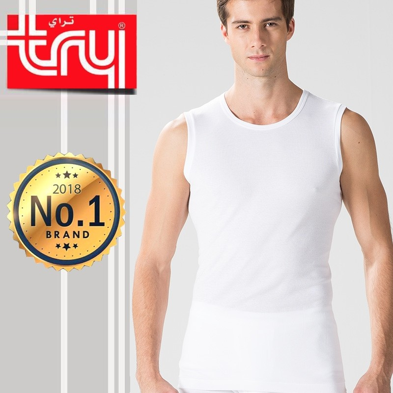 Set of 6 Shirts Cut Sleeveless for Men by Try (FREE Delivery)