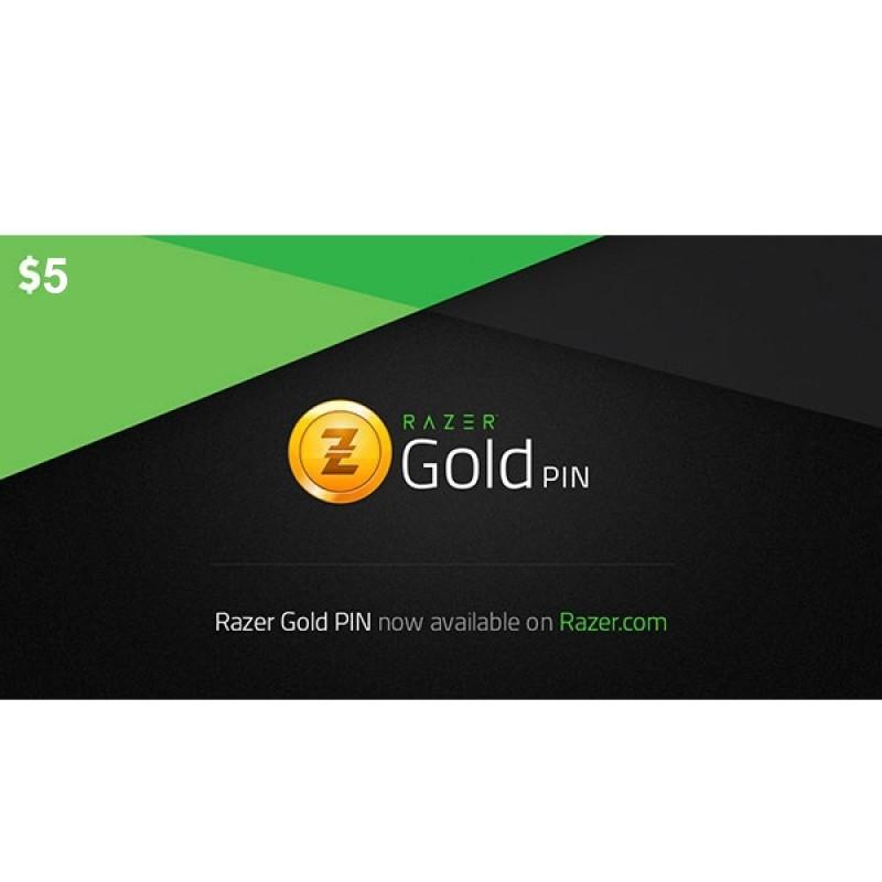 Razer Gold Pin-USD 5 (INT)