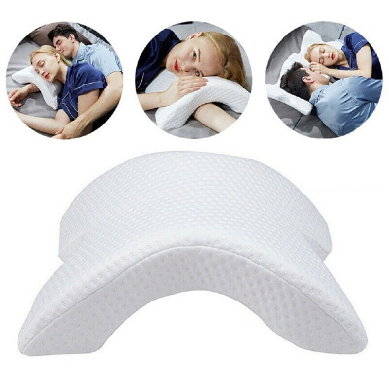 Pressure Free Curved Memory Foam Pillow