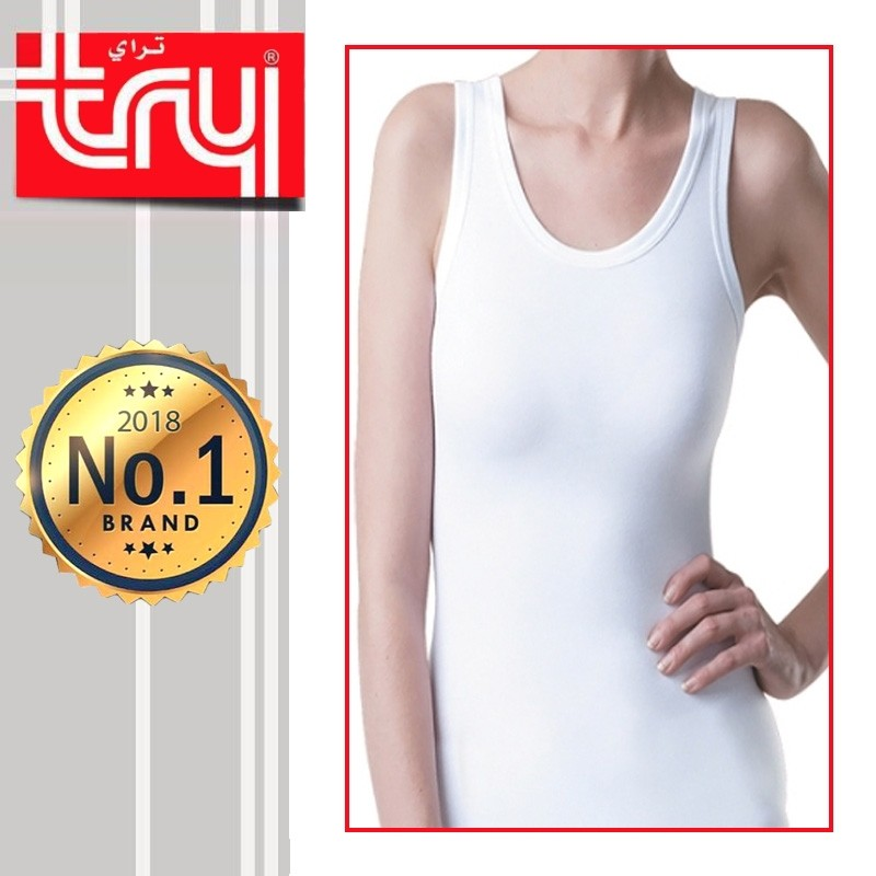 Set of 6 Shirts Sleeveless for Ladies by Try (FREE Delivery)