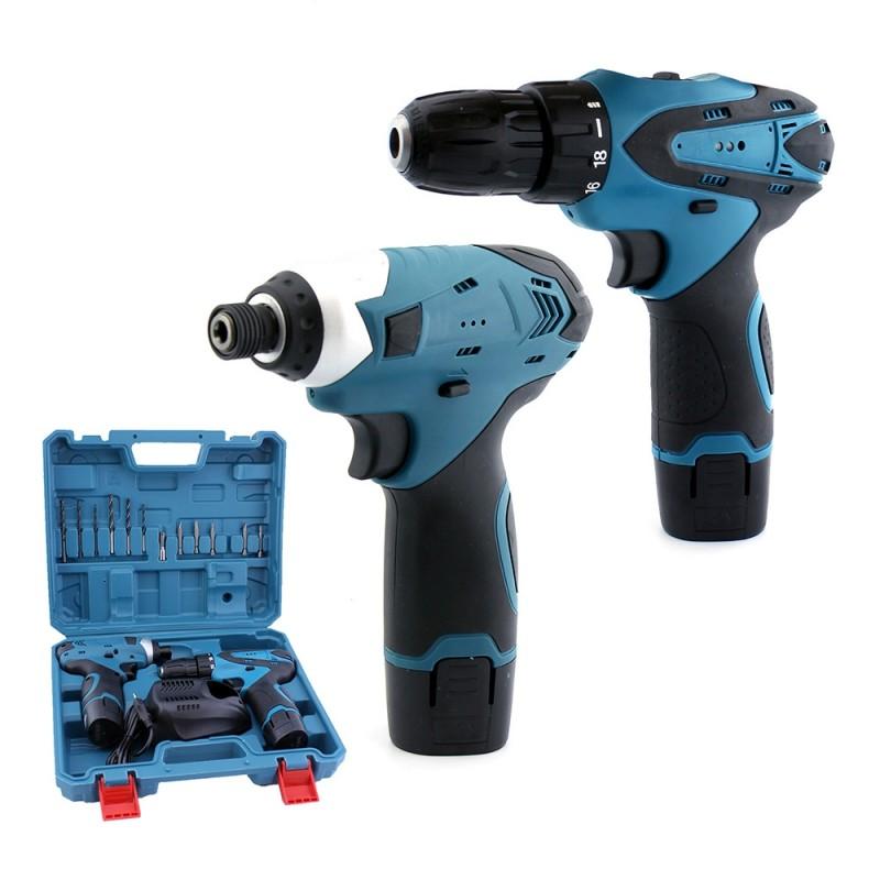 Power Tools Drill Set