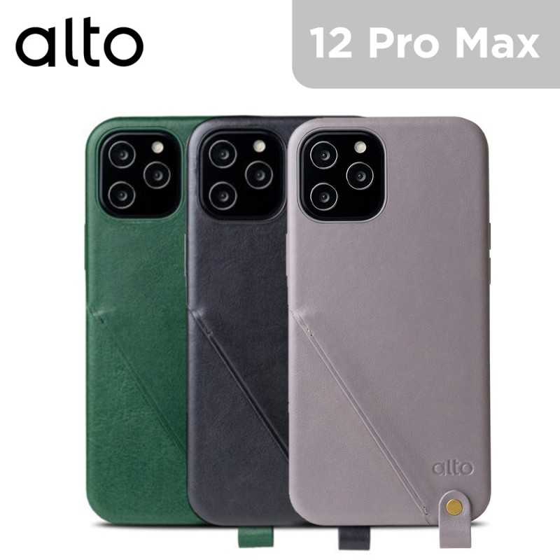 Alto Anello 360 Leather Wallet Case for iPhone 12 Pro Max