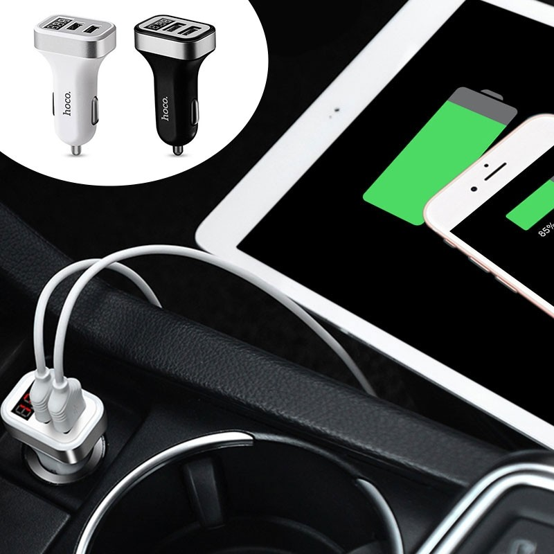 Hoco 2 USB 3.1A Car Charger