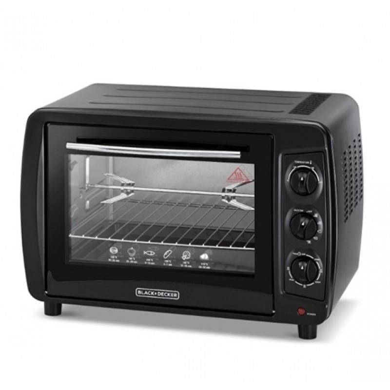 Black & Decker Oven 35L 1500W - Black
