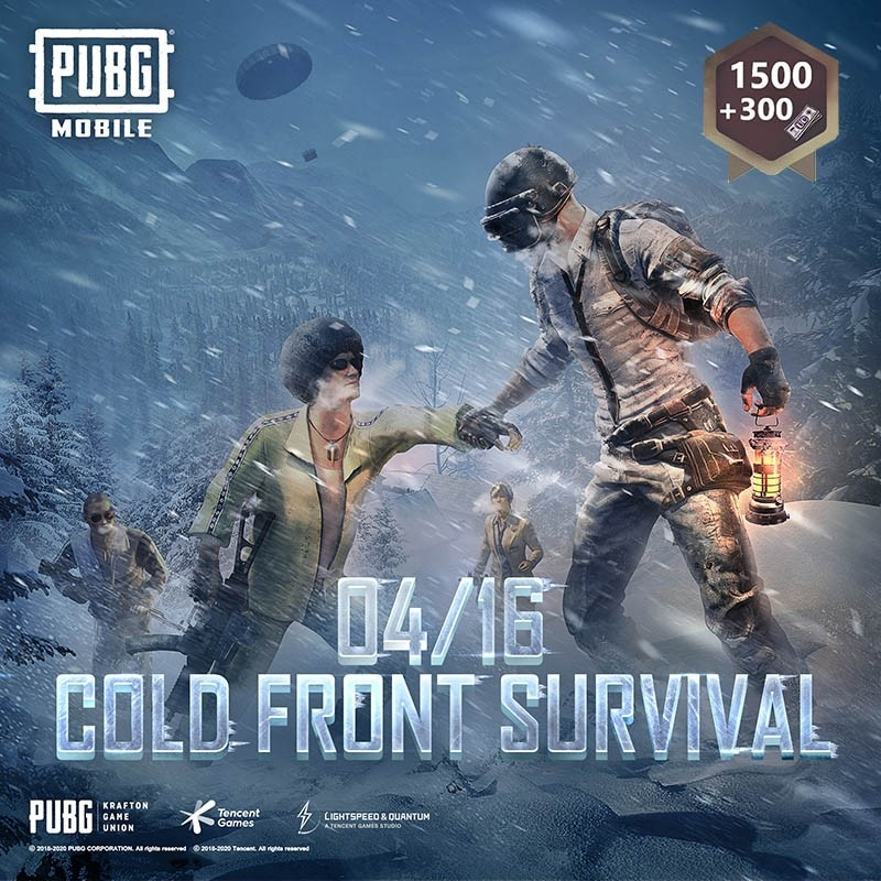 1500+300 UC PUBG Game Points