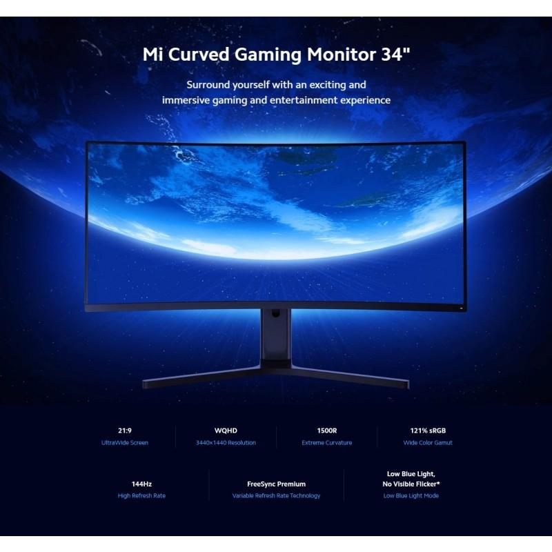"Xiaomi Mi 34"" Mi Curved Gaming Monitor"