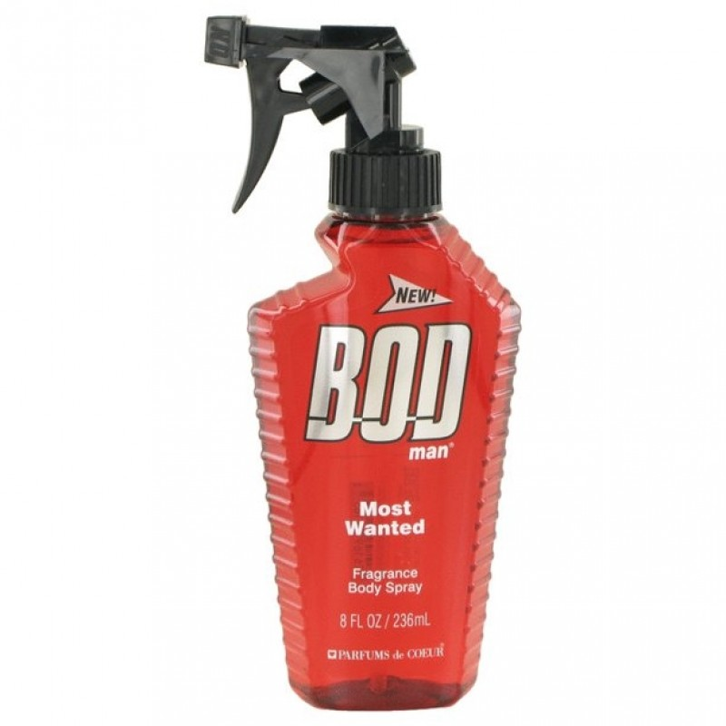 BOD Man Most Wanted Body Spray for Men