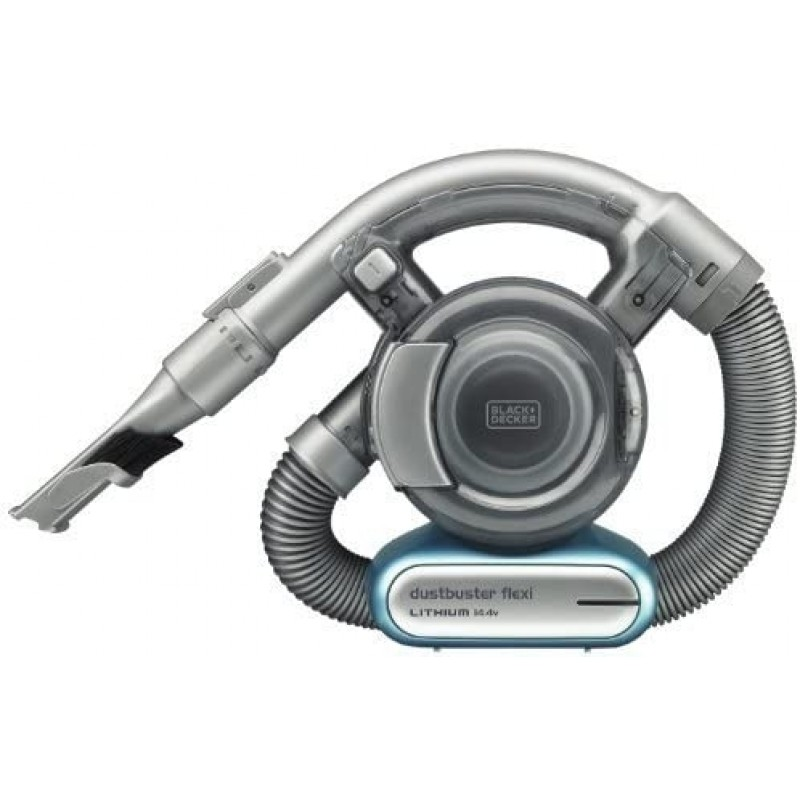 Black & Decker 14.4V Lithium-ion Dust bBuster Flexi Hand Vacuum with Pet tool - Grey