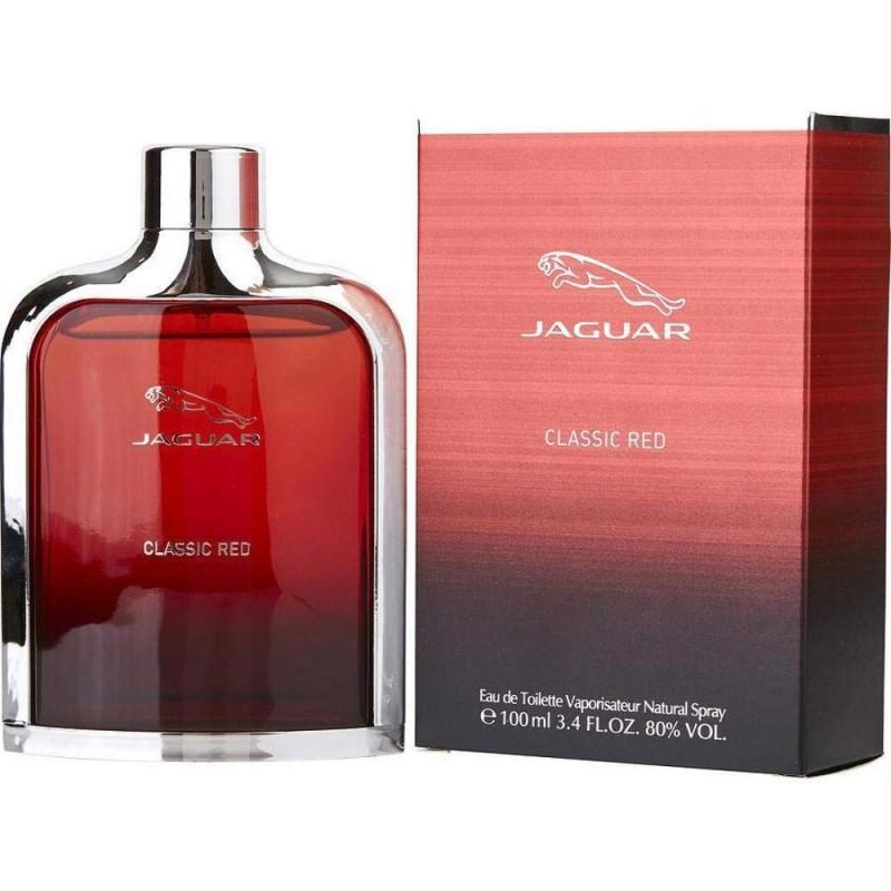 100ml Jaguar Classic Red EDT for Him