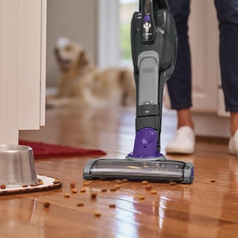Black & Decker 36W 2-in-1 Li-Ion Cordless Pet dustbuster Hand and Floor Vacuum Stick