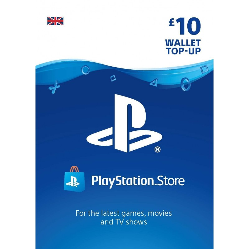 10GBP SONY Playstation Network Card UK