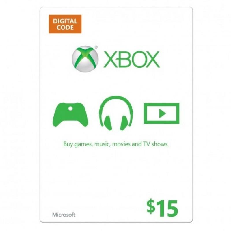 $15 XBox Card - US