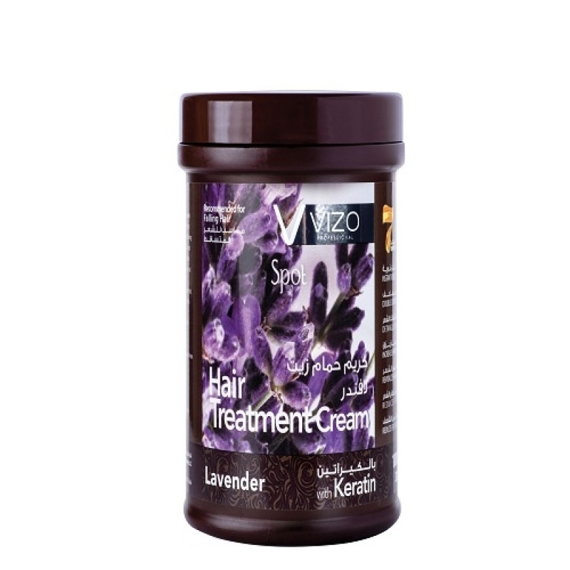 Vizo Spot Hair Treatment Cream Lavender With Keratin 1000ml
