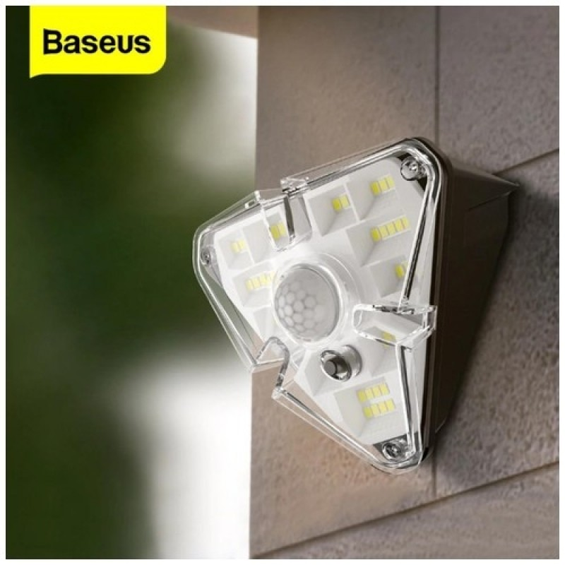 Baseus Solar Wall Lamp with Body Induction - New Condition / Damage Box