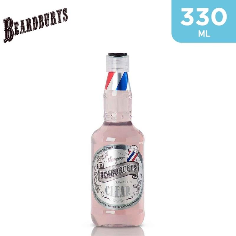 Beardburys Clear Purifying Oily Hair Shampoo 330ml