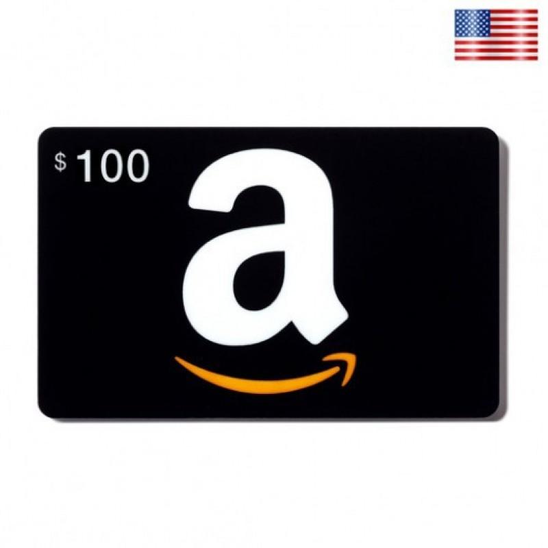 $100 Amazon Gift Card - US