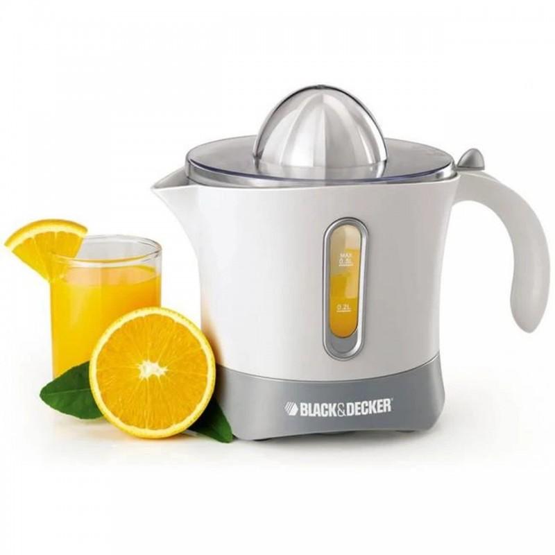 Black & Decker Citrus Juicer 500ml 30W - White