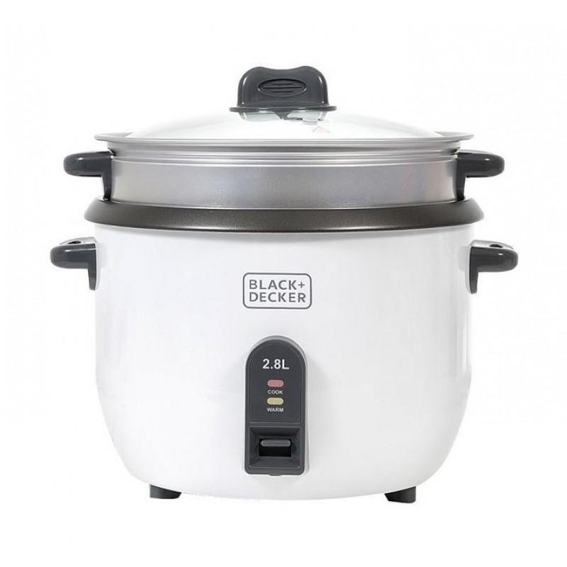 Black & Decker 1100W 2.8L Rice Cooker