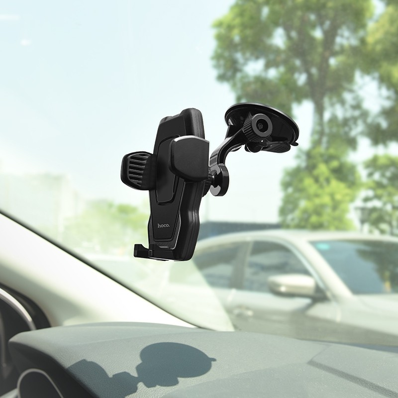 """HOCO Car Holder """" Cool Run"""" Suction Mount For Phones"""
