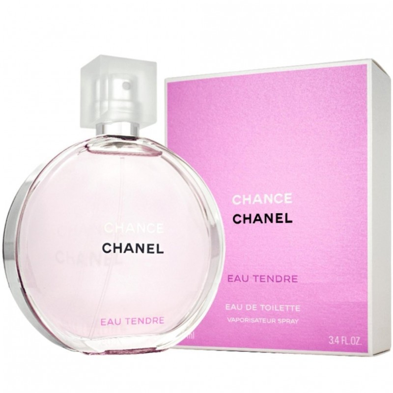 100ml Eau Tendre Chance EDT for her by Chanel