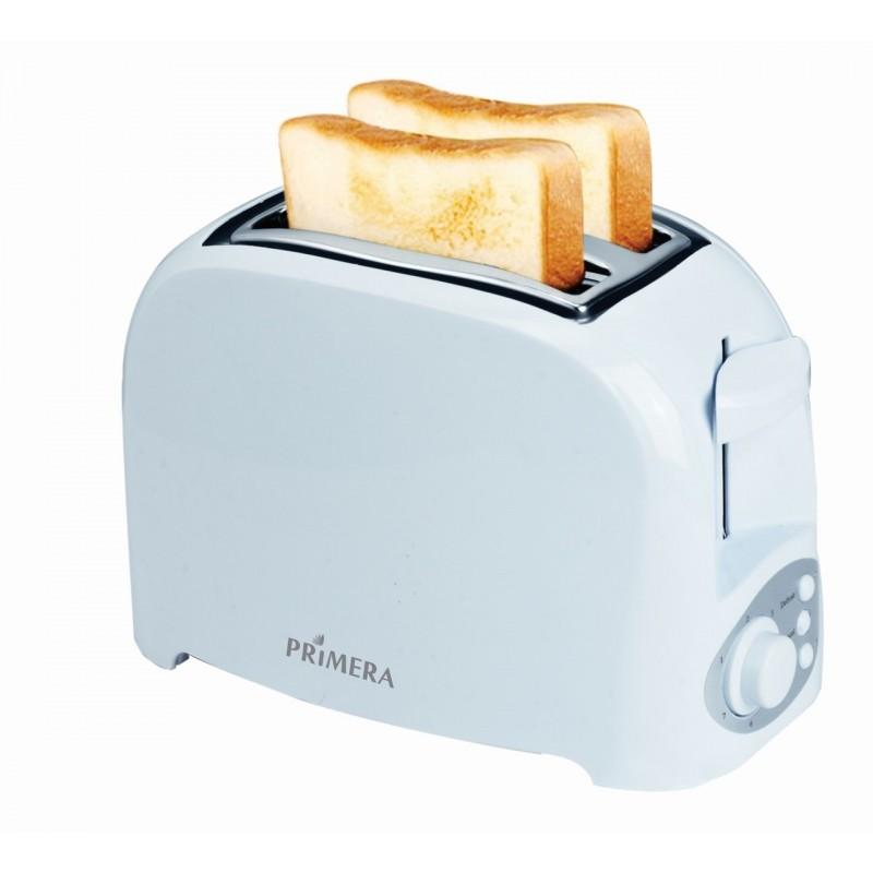 Primera Crisp 2 Slice Toaster - White
