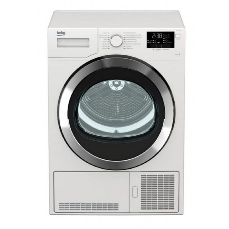 Beko 9 kg Front Loading Freestanding Condensation Dryer – White