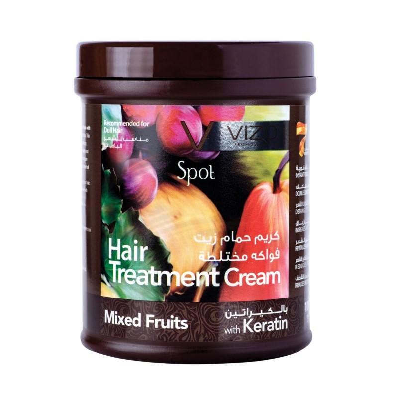 Vizo Spot Hair Treatment Cream Mixed Fruits With Keratin 1000ml