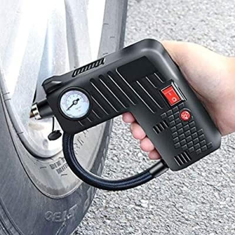 5 in 1 Multifunction Portable Car Air Compressor