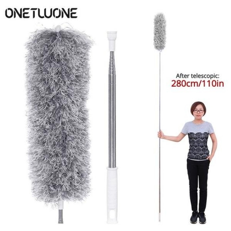 Extendable Microfiber Feather Duster