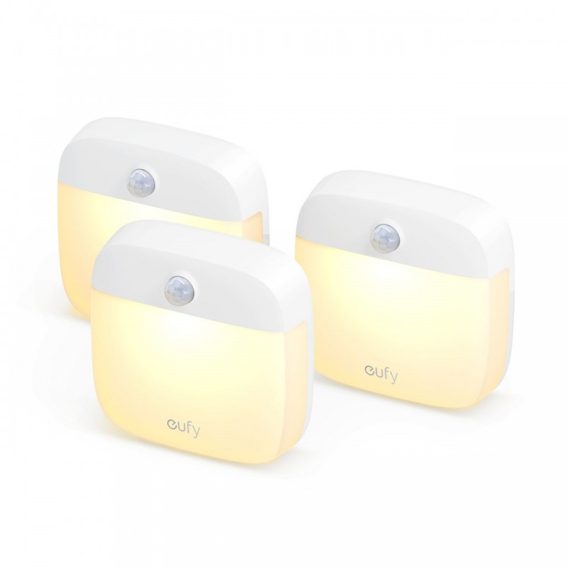 3 PCs Anker Eufy Lumi Stick-On Night Light