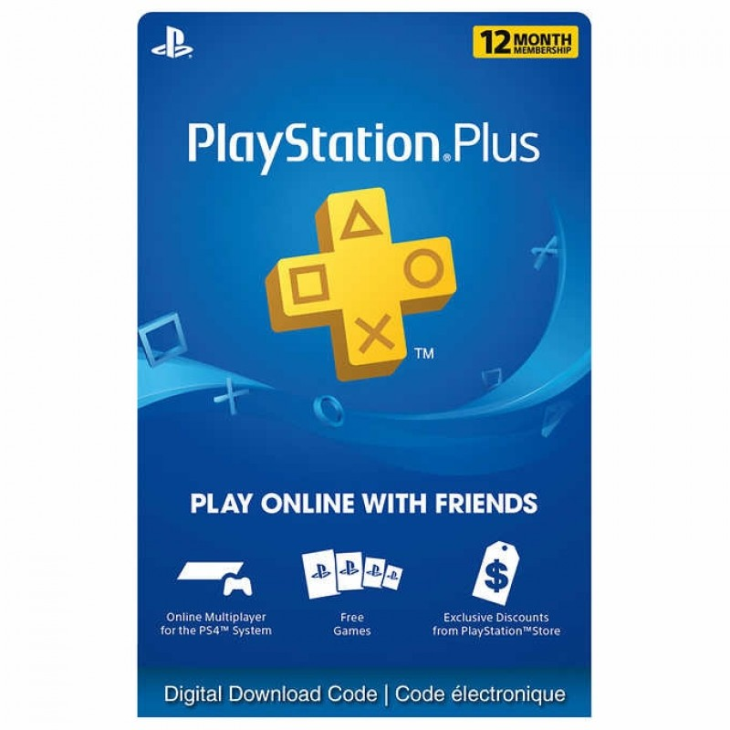 365 Days Sony Playstation Plus USA