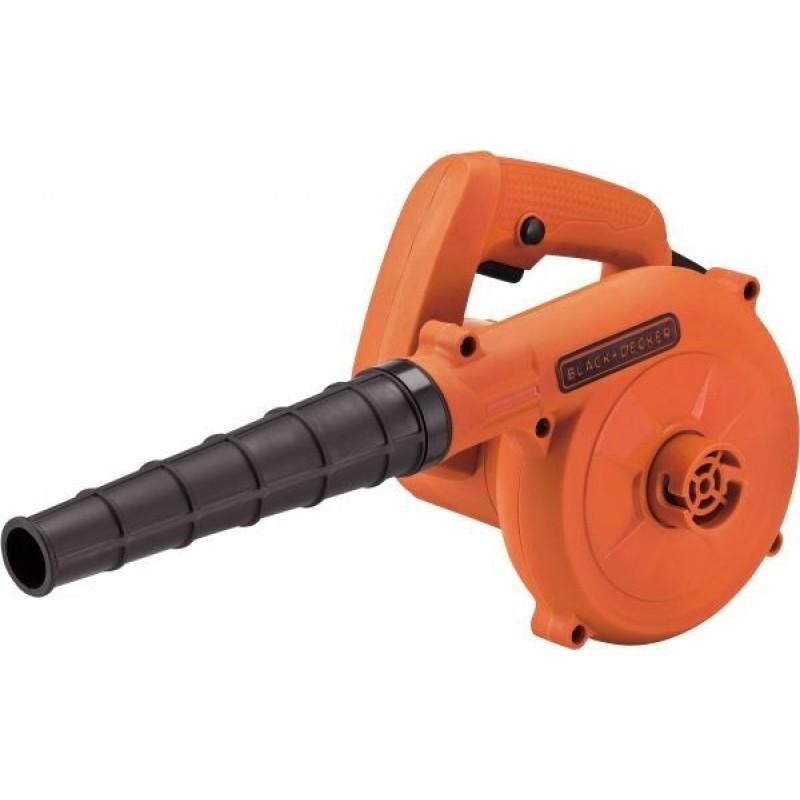 Black & Decker 530W Compact Blower - Orange & Black