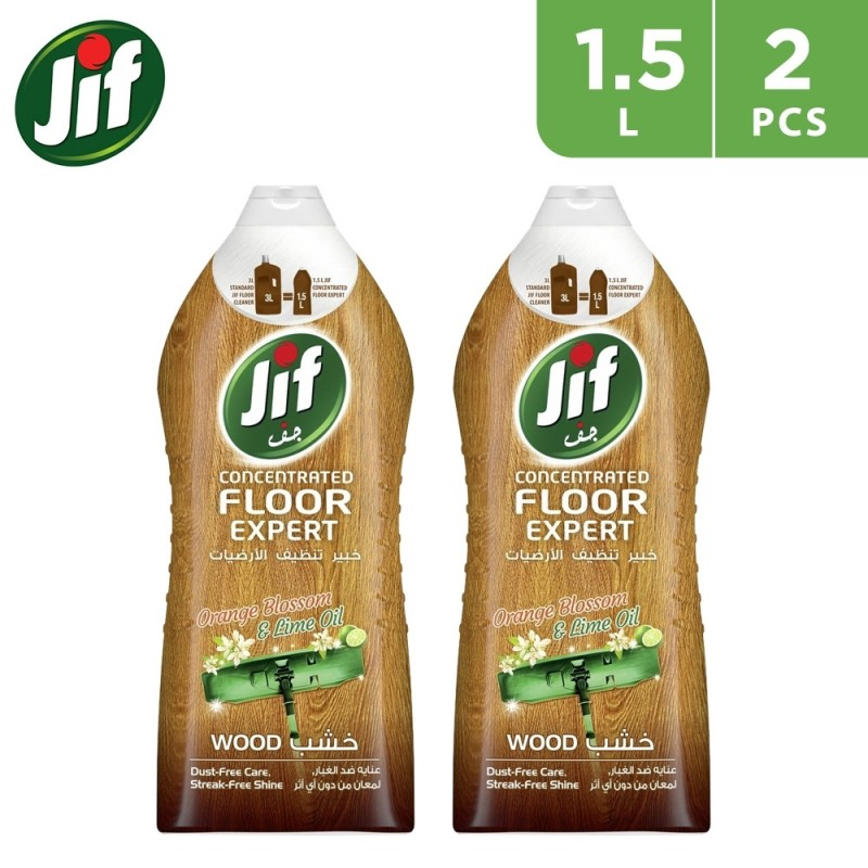 Jif Concentrated Floor Expert Wood 2 x 1.5L