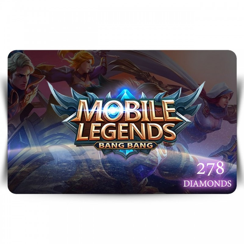 Mobile Legends - 278 diamonds Digital Code