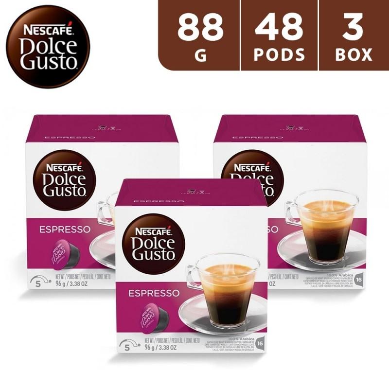 Nescafe Dolce Gusto Espresso 88 g (3 x 16 capsules)