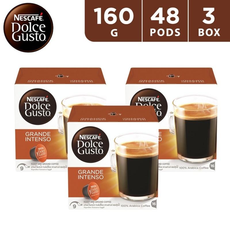 Nescafe Dolce Gusto Grande Intenso 160 g (3 x 16 capsules)