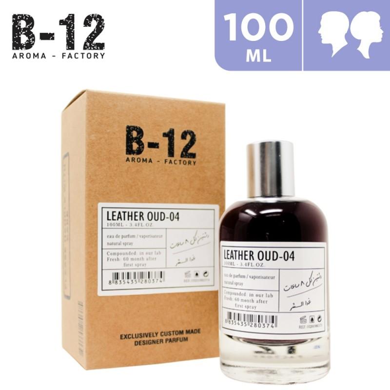 100ml B-12 Leather Oud-04 Eau de Parfum For Him & Her