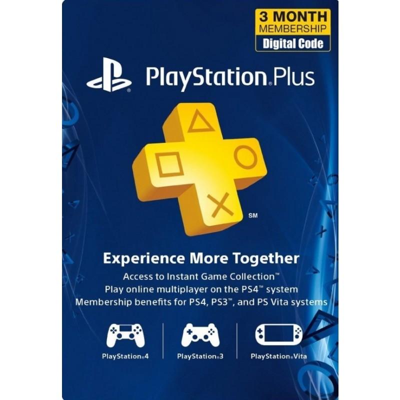 90 Days Sony Playstation Plus USA