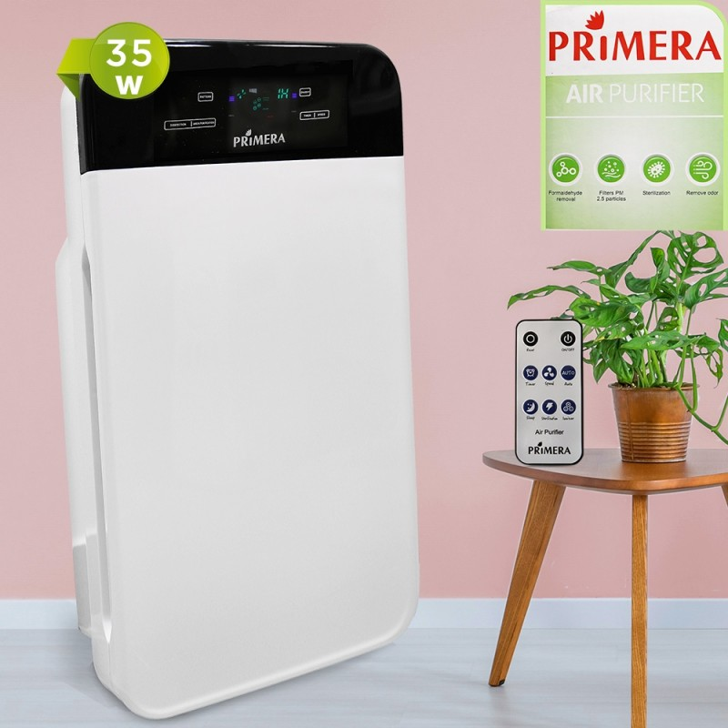 Primera Clarion 4 Filters Air Purifier With Remote Control
