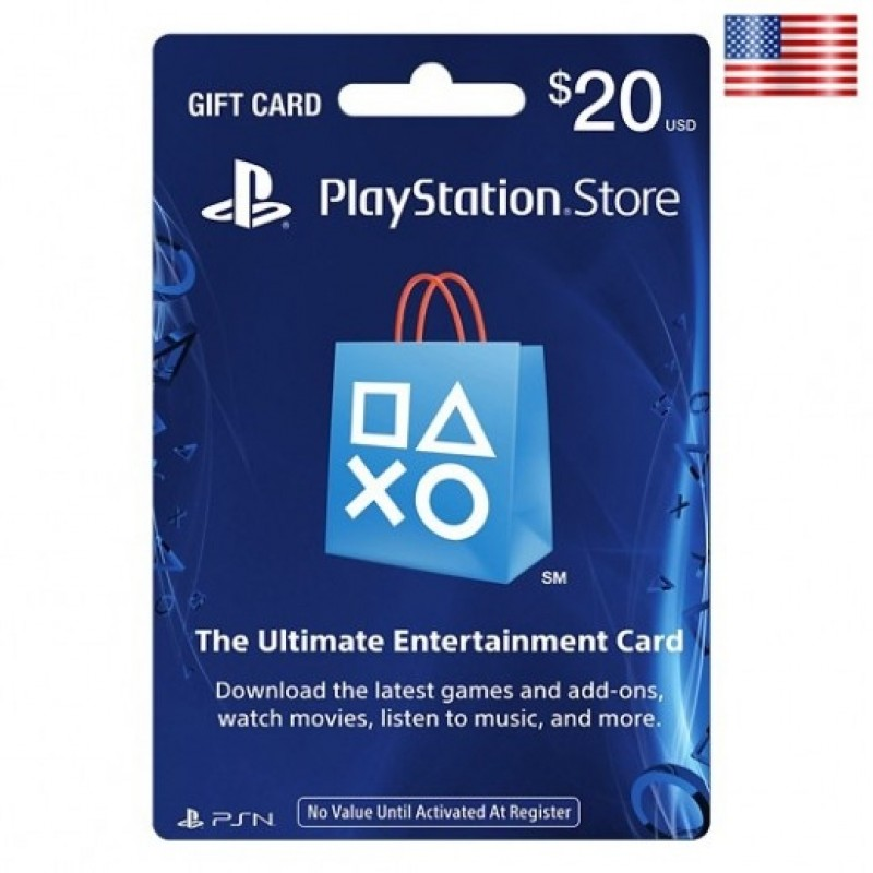 $20 SONY Playstation Network Card US