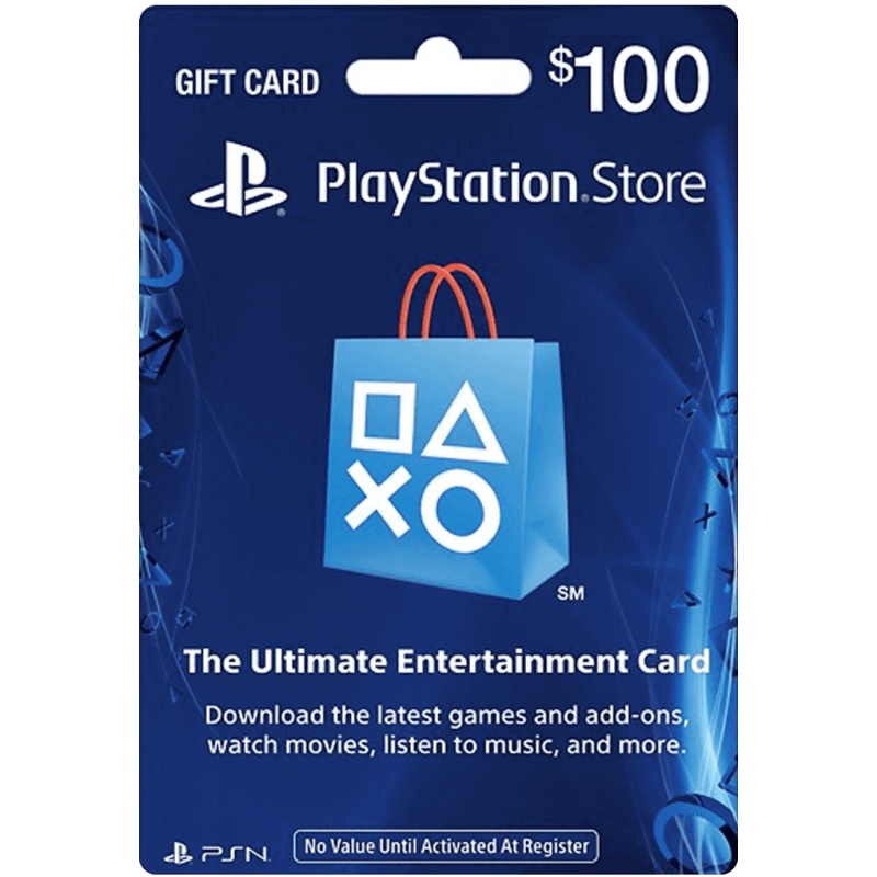 $100 SONY Playstation Network Card US