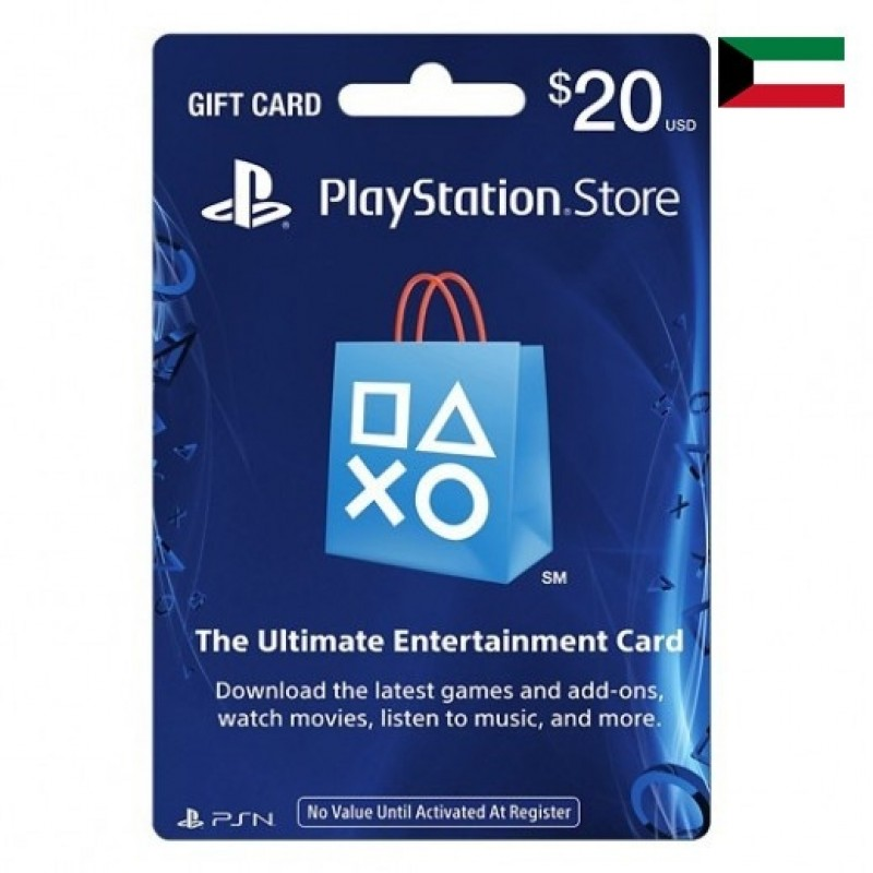 $20 Sony Playstation Network Card Kuwait Store