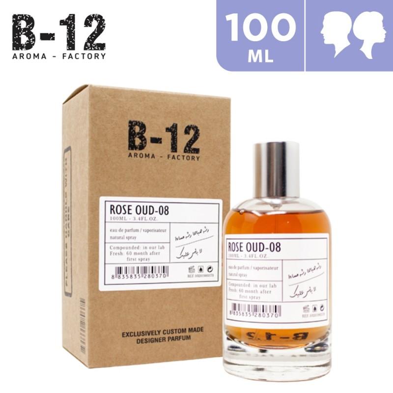100ml B-12 Rose Oud-08 Eau de Parfum For Him & Her